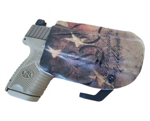 FN 509 Holster Back
